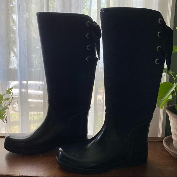Coach Tristee Rain Boots, size 8